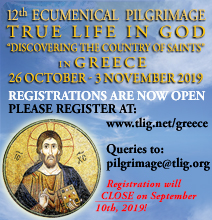 12th True Life in God Ecumenical Pilgrimage in Greece