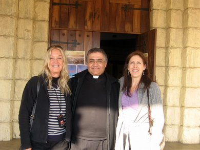 Vassula, Fr. Badaoui and Georgia