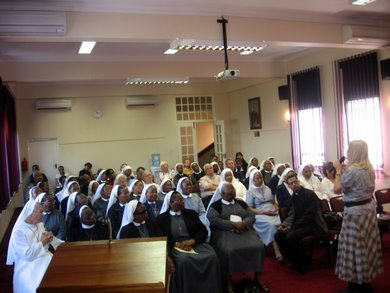 Meeting with Clergy in Durban