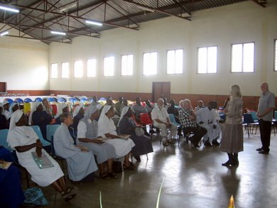 Religious Who Attended the Meeting at Limbe