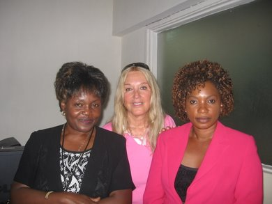 Interviewers from Capital Radio, Malawi