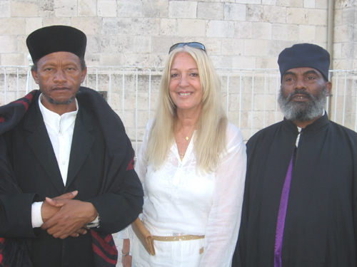 Vassula and the Ethiopian Orthodox Priests