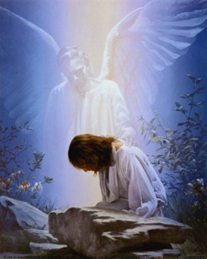 Angel and Jesus