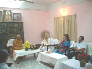 Speaking with the Ven. Suddhananda
