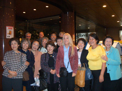 Farewell after the Meeting, taken with TLIG group from Nagazaki, Kyushu, and Okinawa