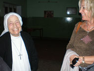 Sr. Alessia spoke to Vassula only in Italian