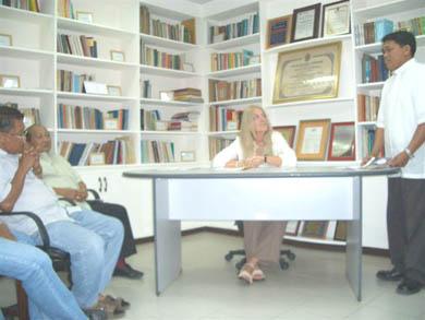Ομιλία για τους κληρικούς στην Βιβλιοθήκη του Αρχιεπισκόπου