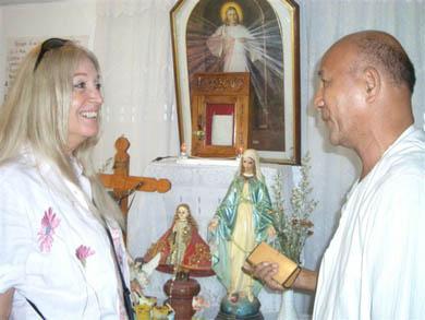 Στο εκκλησάκι του Beth Myriam