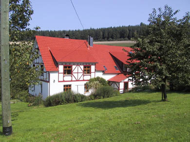 Youthcamp house in Germany
